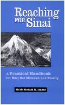 Cover of: Reaching for Sinai: a practical handbook for bar/bat mitzvah and family / by Ronald H. Isaacs.