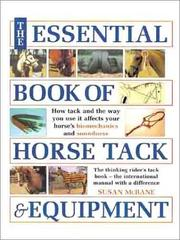 Cover of: The essential book of horse tack & equipment