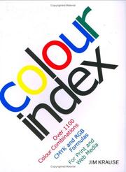 Cover of: Colour Index
