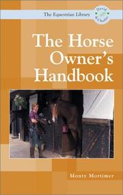 Cover of: The Horse Owners Handbook (Equestrian Library (David & Charles))