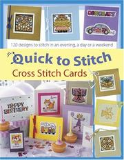 Cover of: Quick to Stitch Cross Stitch Cards | Sue Cook