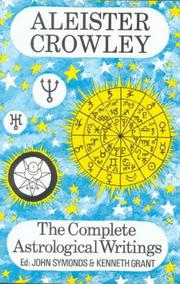 Cover of: The complete astrological writings