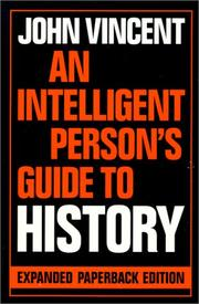 Cover of: An intelligent person's guide to history