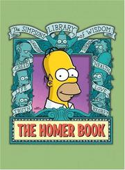 Cover of: The Homer Book (Simpsons Library of Wisdom)