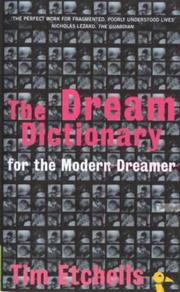 Cover of: The Dream Dictionary | Tim Etchells
