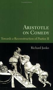 Cover of: Aristotle on Comedy | Richard Janko