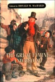 Cover of: The Great Famine and Beyond | Donald M. MacRaild