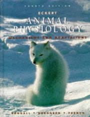 Cover of: Eckert animal physiology | David J. Randall