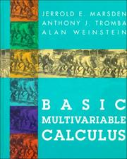 Basic Multivariable Calculus | Open Library