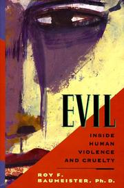 Cover of: Evil