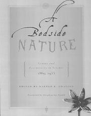Cover of: A Bedside Nature | Walter B. Gratzer
