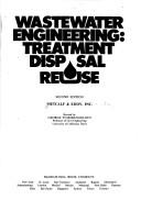 Cover of: Wastewater Engineering  Treatment Disposal Reuse