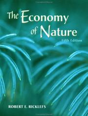 Cover of: The Economy of Nature