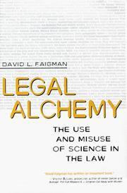 Cover of: Legal Alchemy | David L. Faigman