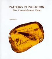 Cover of: Patterns in evolution