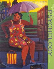 Cover of: Exploring Psychology, Fifth Edition by David G. Myers