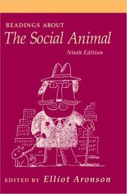 Cover of: Readings about the Social Animal