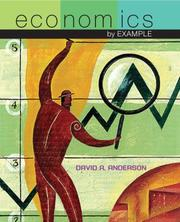 Cover of: Economics by Example