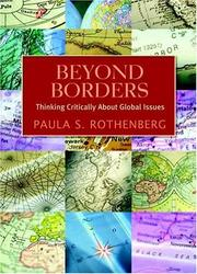 Cover of: Beyond Borders