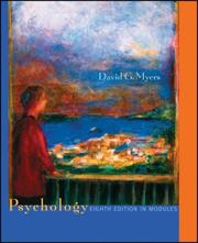 Cover of: Psychology, Eighth Edition, in Modules | David G. Myers