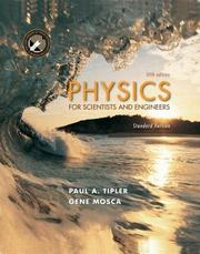 Cover of: Physics for Scientists and Engineers