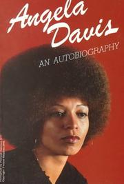 Cover of: Angela Davis--an autobiography