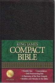 Cover of: King James Compact Text Bible | Na