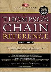 Cover of: The Thompson Chain-Reference Study Bible |