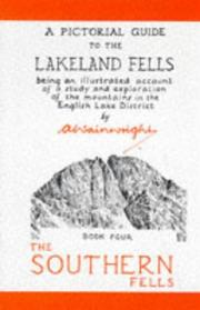 Cover of: Pictorial Gd/Lakeland Fell (Pictorial Guides to the Lakeland Fells) | Alfred Wainwright
