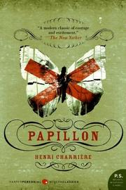 Cover of: Papillon (P.S.) | Henri Charriere