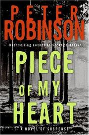 Cover of: Piece of My Heart LP | Peter Robinson