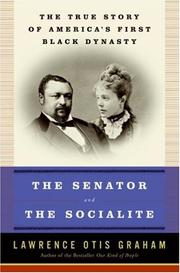 Cover of: The senator and the socialite
