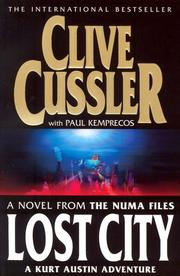 Cover of: Lost City (NUMA Files)