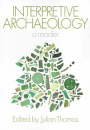 Cover of: Interpretive Archaeology | Julian Thomas