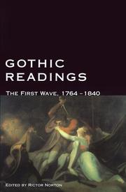 Cover of: Gothic Readings | Rictor Norton