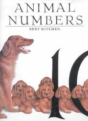 Cover of: Animal Numbers | Bert Kitchen
