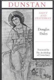 Cover of: Dunstan | Douglas Dales