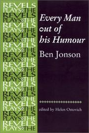 Cover of: Every man out of his humour: 1600.