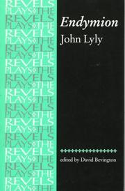 Cover of: Endymion (The Revels Plays)