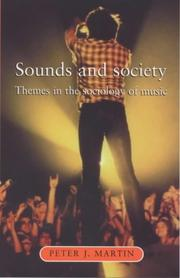 Cover of: Sounds and Society