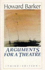 Cover of: Arguments for a theatre