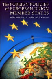 Cover of: The Foreign Policies of European Union Member States |