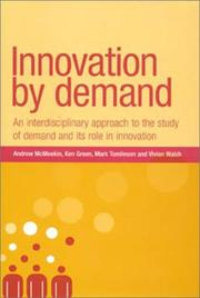 Cover of: Innovation By Demand |