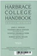 Cover of: Harbrace college handbook | John Cunyus Hodges