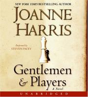 Cover of: Gentlemen and Players CD: A Novel