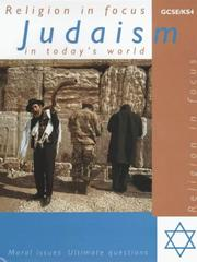 Cover of: Judaism in Today