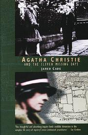 Cover of: Agatha Christie and the eleven missing days