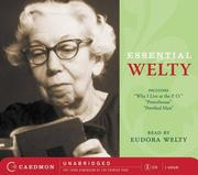 Essential Welty CD