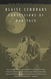 Cover of: Confessions of Dan Yack (Peter Owen Modern Classic)