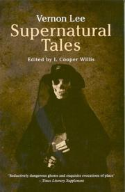 Cover of: Supernatural tales: excursions into fantasy.